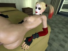 Harley Quinn 3D sex compilation (Batman)